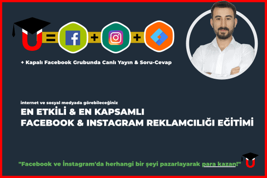 Instagram & Facebook Reklamcılığı Eğitimi